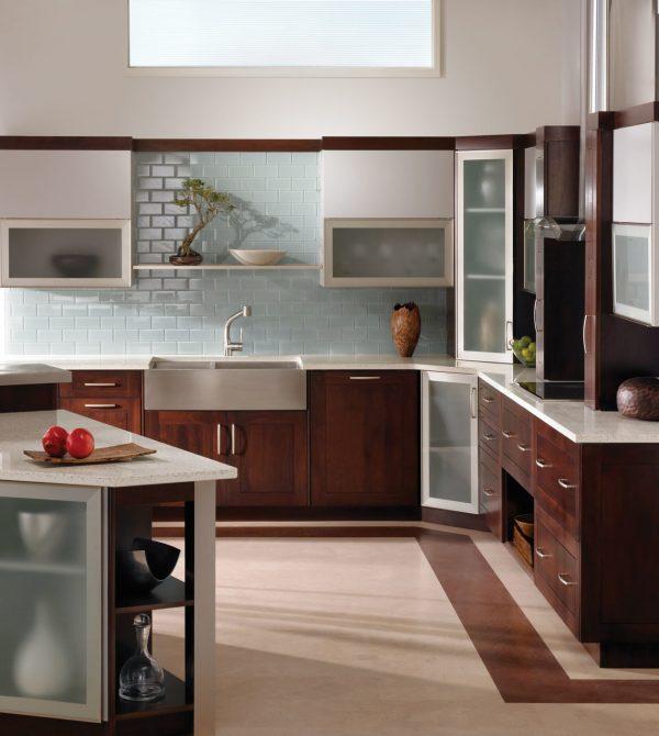 IceStone White Pearl Kitchen